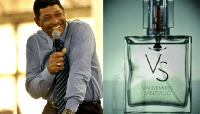 Valdemiro Santiago lança perfume.