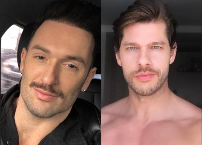 Diego Hypólito e o namorado, Marcus Duarte.