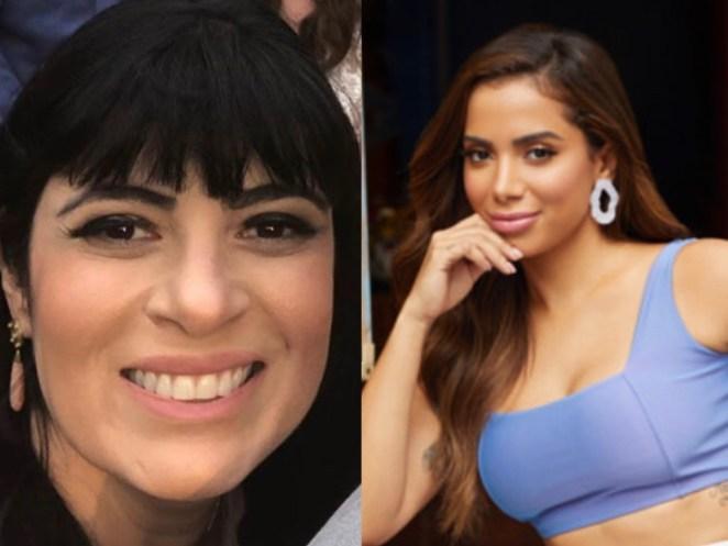 Cantora gospel Fernanda Brum e Anitta.