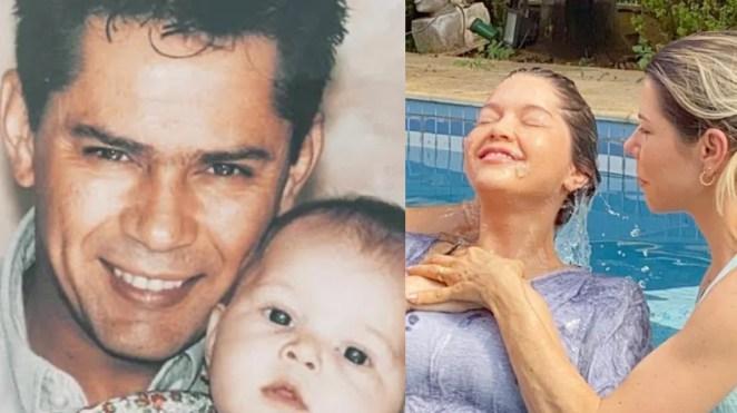 Lyandra é filha do cantor Leandro e se batizou na igreja evangélica.