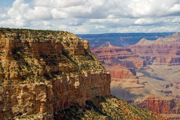 Grand Canyon precipizio