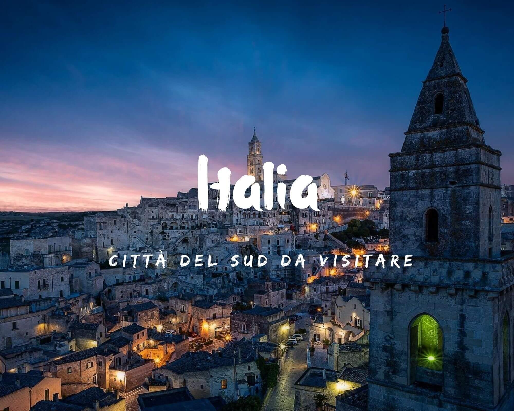 Città del Sud Italia da visitare nel weekend