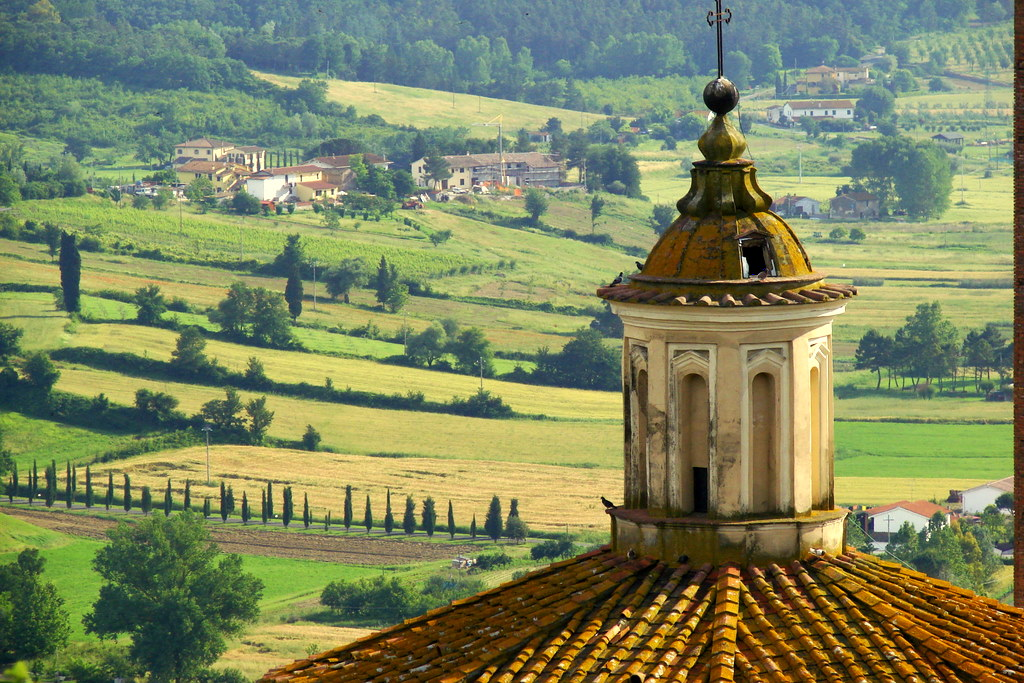 la toscana in auto: itinerari on the road