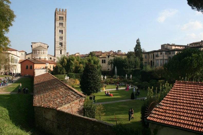 girare Lucca in bicicletta