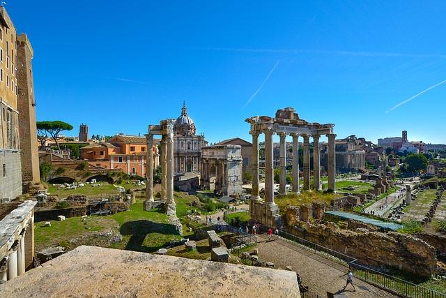 visitare i Fori Imperiali a Roma