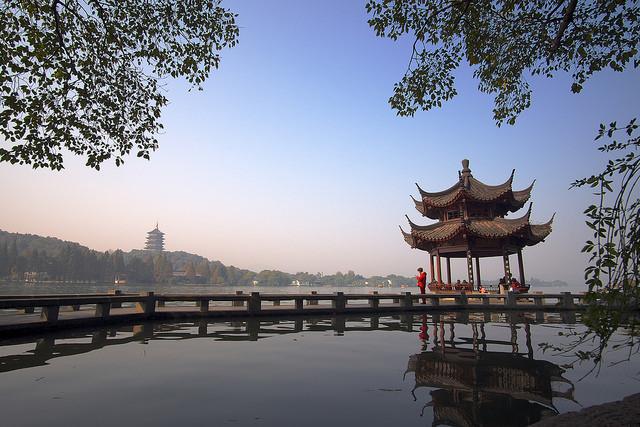 lago più bello della Cina