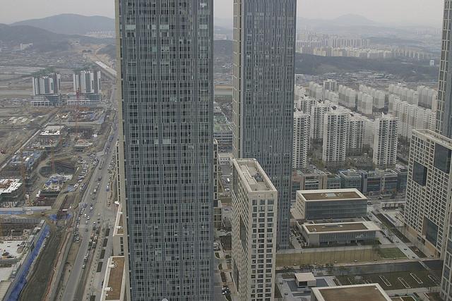 città in costruzione