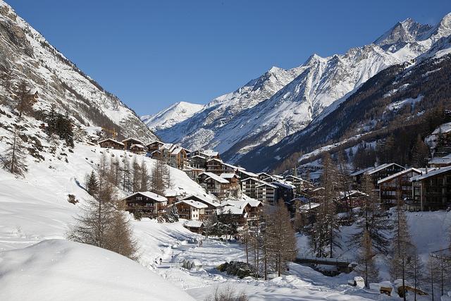 inverno a Zermatt