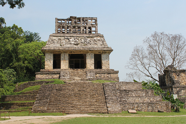 Palenque in Messico