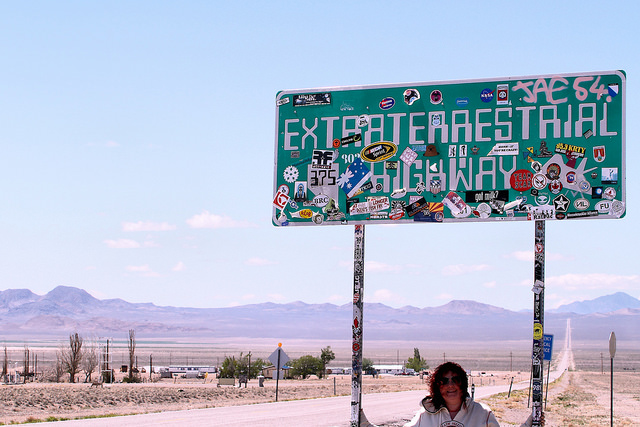 Area 51 Autostrada Ufo