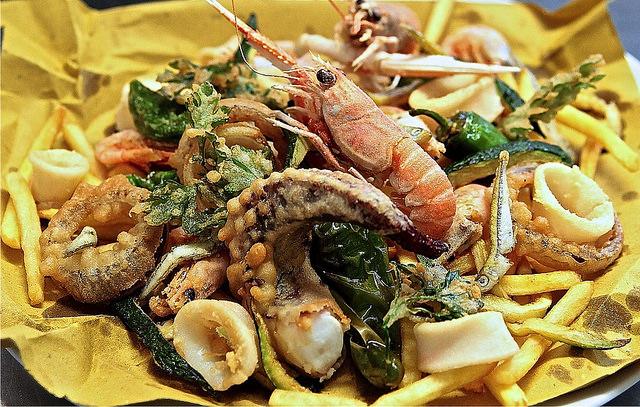 sagra del pesce Camogli