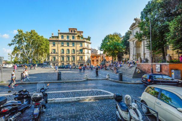 dove cenare a Trastevere, itinerario nel centro di Roma
