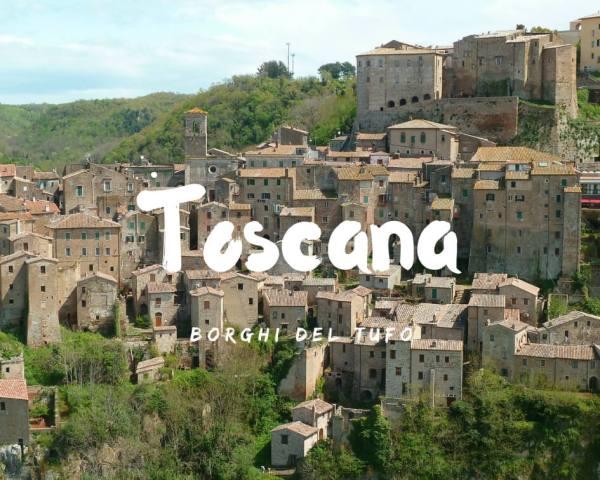 I borghi del tufo: visitare Sorano, Sovana e Pitigliano
