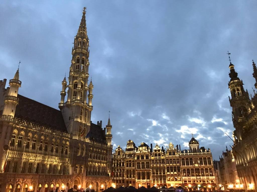 Piazza centrale Bruxelles