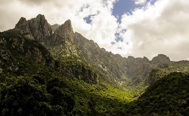 percorsi escursionistici Corsica