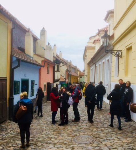 vicolo d'oro a Praga