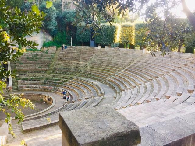 anfiteatro a Barcellona dove si trova