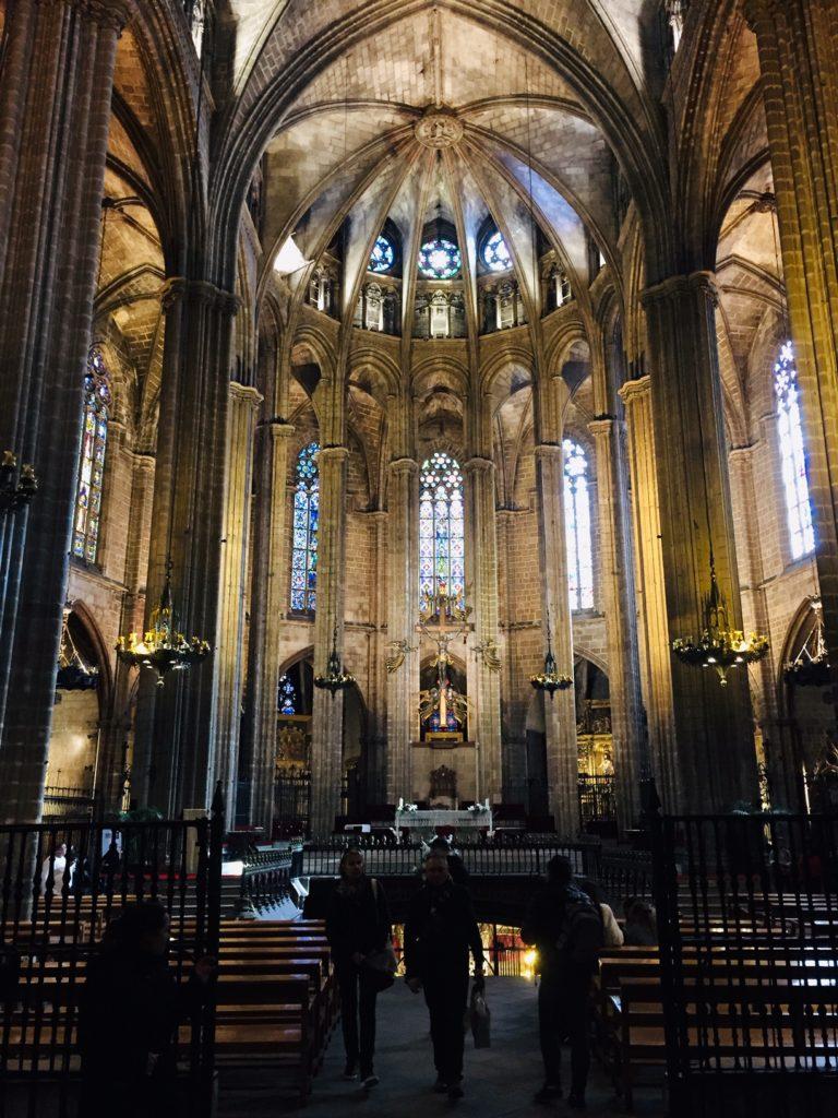 visitare cattedrale Barcellona