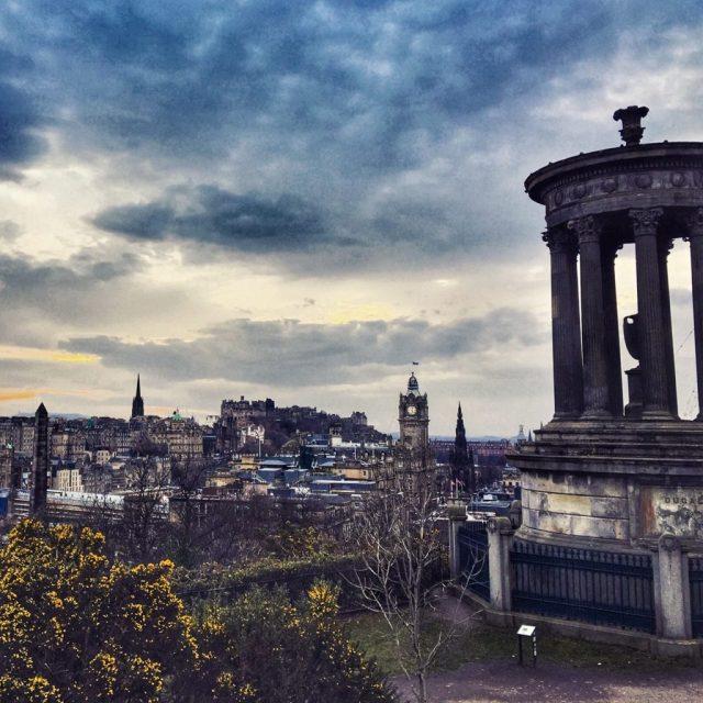 dove vedere il tramonto Edimburgo