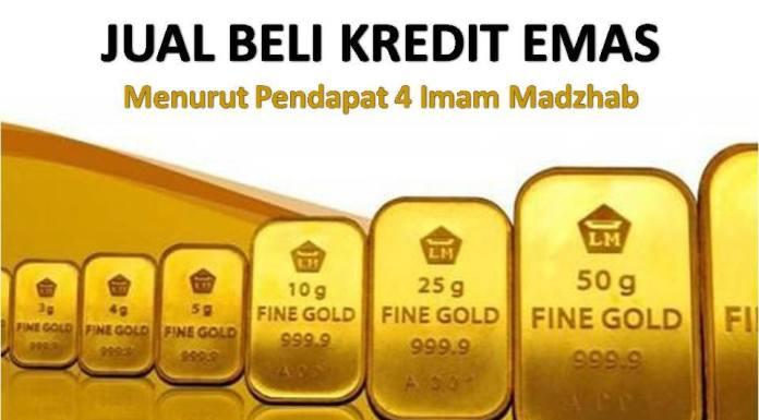 jual beli emas secara kredit