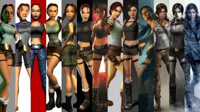 Photo of Lara Croft através dos anos… muito mudou