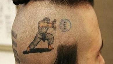 Photo of Tatuagem Gamer | Ruy + Hadouken = Street Fighter