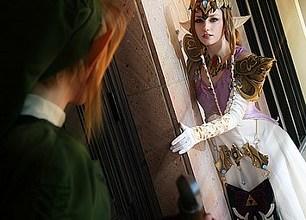 Photo of Cosplay | Link encontra Zelda