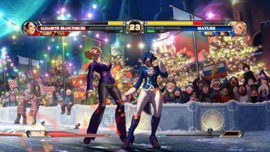 Foto de Garotas vs Garotas no novo vídeo de The King of Fighters XII [X360 & PS3]