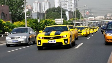 Foto de Transformers invadem a China nesse momento!