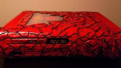 Foto de Case Mod | O infernal Xbox 360 do Hellboy!