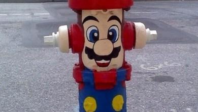 Photo of + Imagens: Mario Hidrante e Castelo Nintendo 64