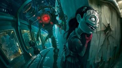 Foto de Jhonen Vasquez faz ilustração de Bioshock 2!