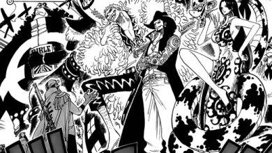 Foto de Conversa de Mangá: One Piece 550 – Quartel General da Marinha