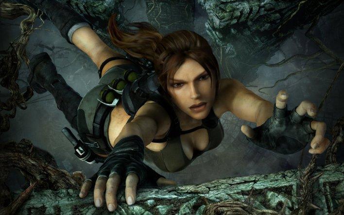 Beldades dos games Lara Croft