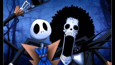Foto de Jack & Brook numa FanArt de Halloween!