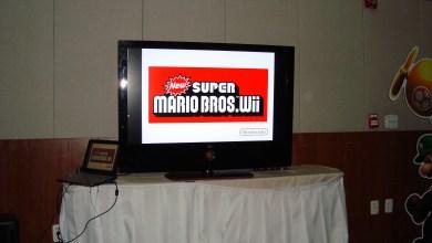 Photo of New Super Mario Bros Wii! Evento da Lamatel e eu joguei!