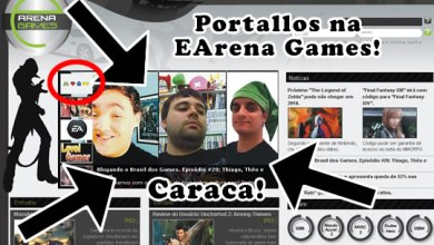Photo of Bastidores: Blog ganha entrevista na EArena Games!
