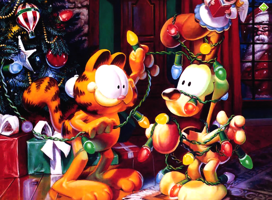 christmas-garfield-wallpapers