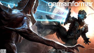 Photo of Dead Space 2 na capa da Game Informer!