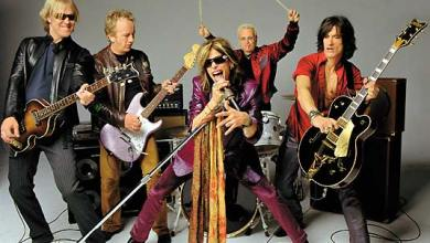 Photo of Aerosmith no Brasil em maio