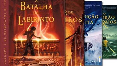 """Photo of Livro: """"A Batalha do Labirinto"""". Aos poucos, Rick Riordan também vai encontrando o caminho…"""