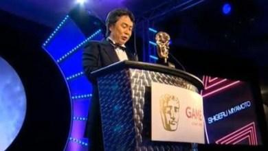 Foto de Miyamoto recebe prêmio no BAFTA! Confira premiados!