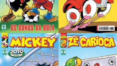 Photo of HQ: Próximas capas dos Quadrinhos Disney!