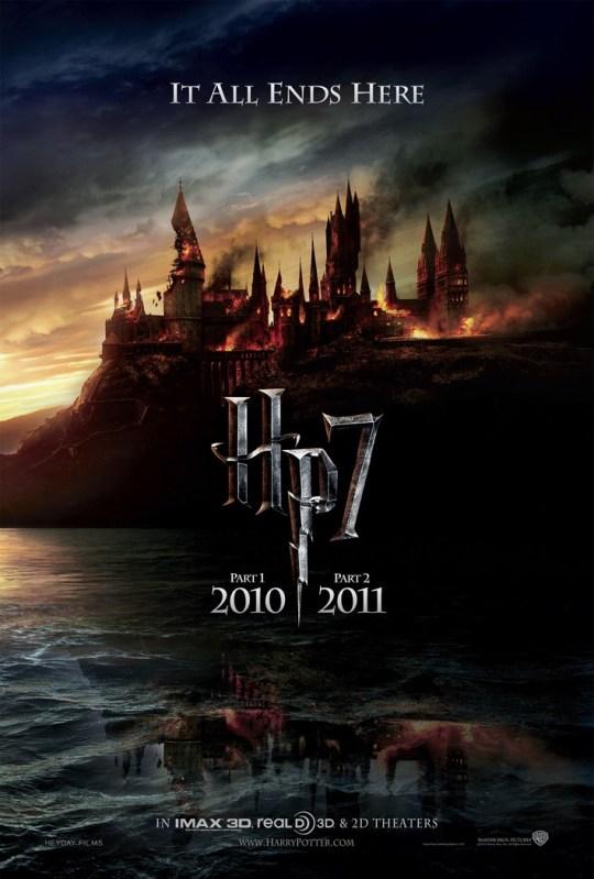 Harry Potter e as Relíquias da Morte - pôster
