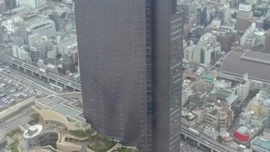 Foto de Curiosidade | Prédio em Osaka mais parece um PlayStation 3!