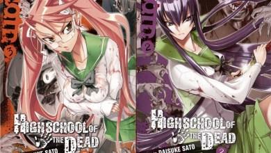 Photo of Mais mortos vivos em High School Of The Dead… ok, calcinhas e peitos também! (Vol. 02/03)