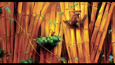 Foto de Arte conceituais de Donkey Kong Country Returns distinguem planejamento do resultado final? [Wii]