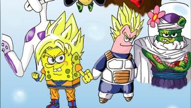 Foto de PicArt: Dragon Ball Z e Bob Esponja se fundem! [Made in Brazil]