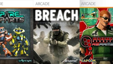 Photo of Lançamentos Live Arcade: Spare Parts, Breach e Bionic Commando Rearmed 2! Rápidas Impressões!