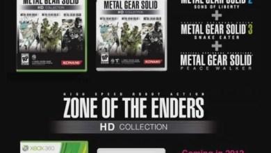 Photo of E as próximas HD Collections são… Metal Gear Solid e Zone of the Enders!! [E3 2011] [Konami] [PS3/X360]